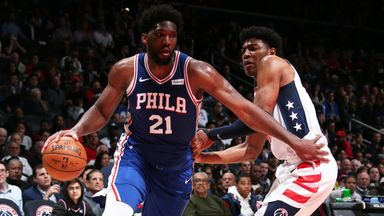 NBA Wk7: 76ers 113-119 Wizards