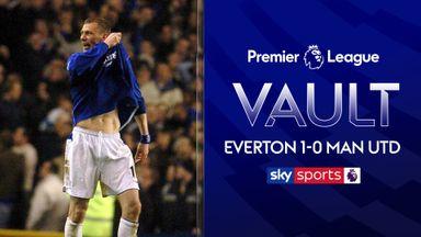 PL Vault: Everton 1-0 Man Utd (2005)