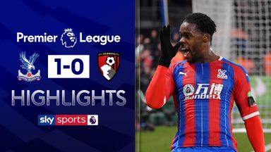 Ten-man Palace stun Bournemouth