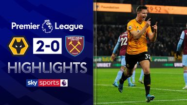 Wolves ease past West Ham