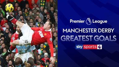 Man Utd v Man City: Best Goals