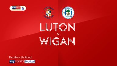 Luton 2-1 Wigan
