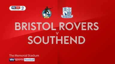 Bristol Rovers 4-2 Southend