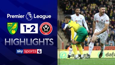 Sheff Utd beat Norwich after VAR drama