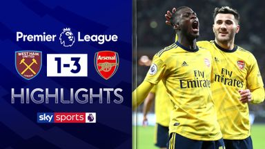Arsenal fight back to beat West Ham