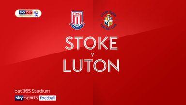 Stoke 3-0 Luton