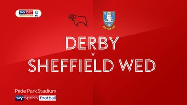Derby 1-1 Sheffield Wednesday