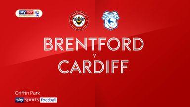 Brentford 2-1 Cardiff