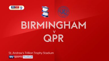 Birmingham 0-2 QPR