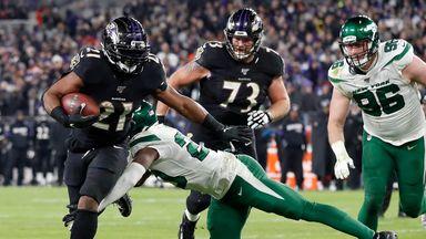 Jets 21-42 Ravens