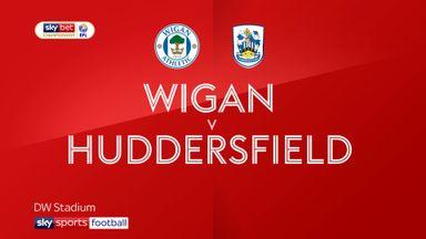 Wigan 1-1 Huddersfield