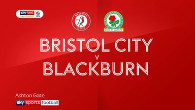 Bristol City 0-2 Blackburn