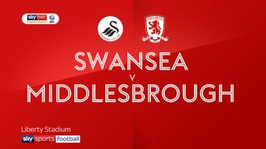 Swansea 3-1 Middlesbrough
