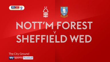 Nottingham Forest 0-4 Sheffield Wednesday