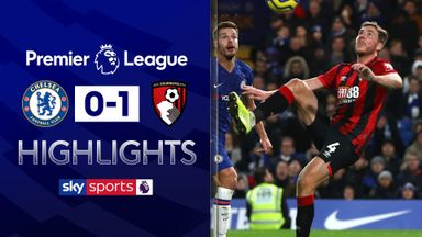 Bournemouth stun Chelsea at the Bridge