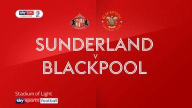 Sunderland 1-1 Blackpool