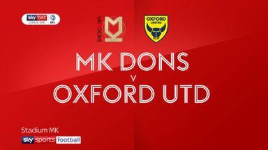 MK Dons 1-0 Oxford