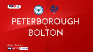 Peterborough 1-0 Bolton