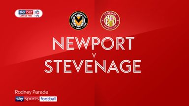 Newport 1-1 Stevenage