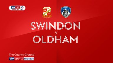 Swindon 2-0 Oldham