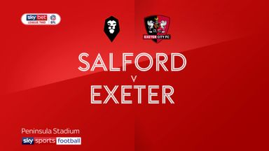 Salford 0-1 Exeter