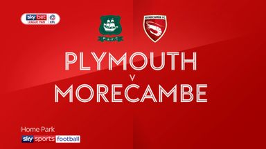 Plymouth 3-0 Morecambe