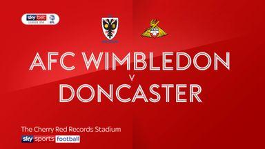 AFC Wimbledon 2-1 Doncaster