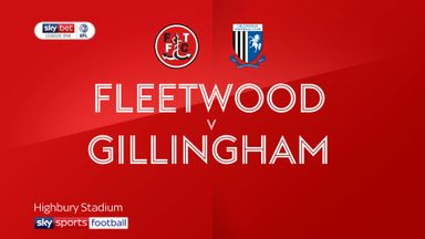 Fleetwood 1-1 Gillingham
