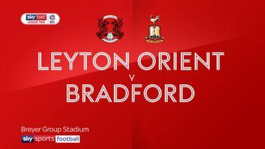 Leyton Orient 0-0 Bradford