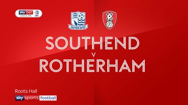 Southend 2-2 Rotherham