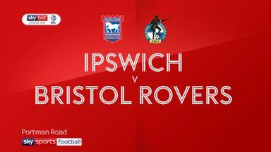 Ipswich 1-2 Bristol Rovers