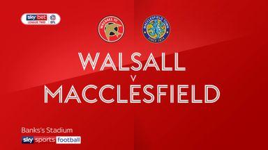 Walsall 1-1 Macclesfield