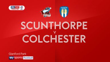 Scunthorpe 2-2 Colchester