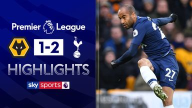 Tottenham leave it late at Molineux