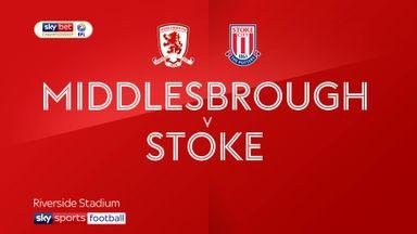 Middlesbrough 2-1 Stoke