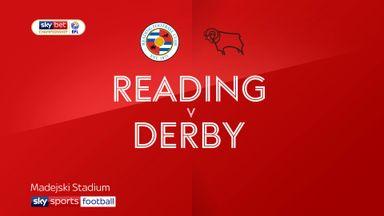 Reading 3-0 Derby