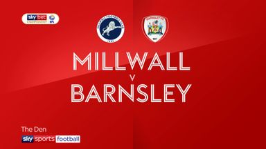 Millwall 1-2 Barnsley