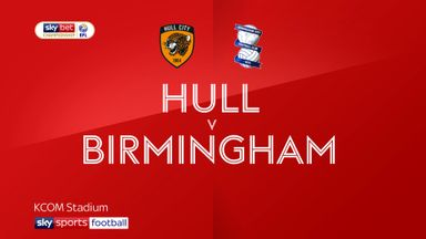 Hull 3-0 Birmingham