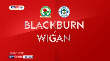 Blackburn 0-0 Wigan