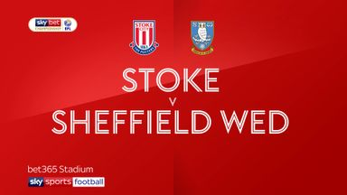 Stoke 3-2 Sheffield Wednesday