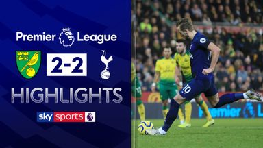Norwich denied by VAR in draw with Spurs