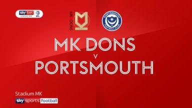 MK Dons 3-1 Portsmouth