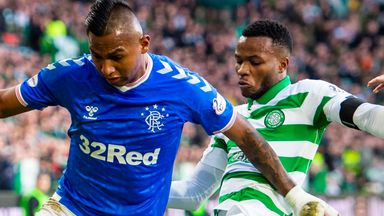 Old Firm clubs 'in league of their own'