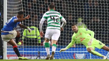 Celtic players: Forster 'unstoppable'