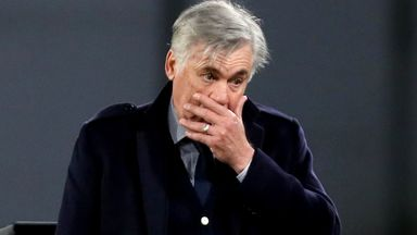 Ancelotti's final words before sacking
