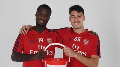 Arsenal players and staff donate a day's wages