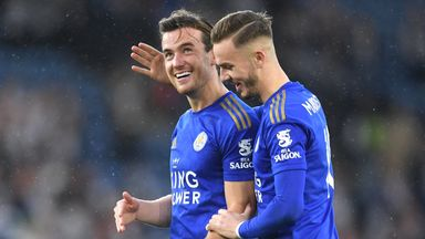 Chilwell and Maddison meet Foxes Pride