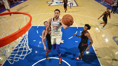 Simmons drops 34 on Cavs
