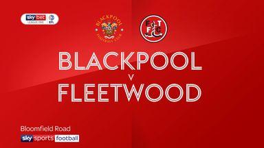 Blackpool 3-1 Fleetwood