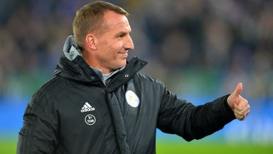 Rodgers 'very happy' at Leicester